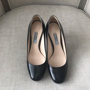 Prada heels - worn and refinished